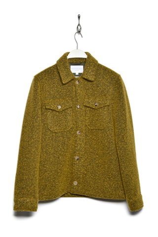 Kestin Hare Field Overshirt pollen yellow