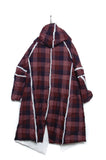 Marc Point Hooded Coat red
