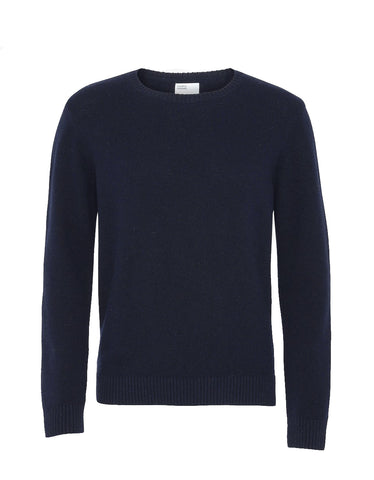 Colorful Standard Merino Wool Crew navy blue