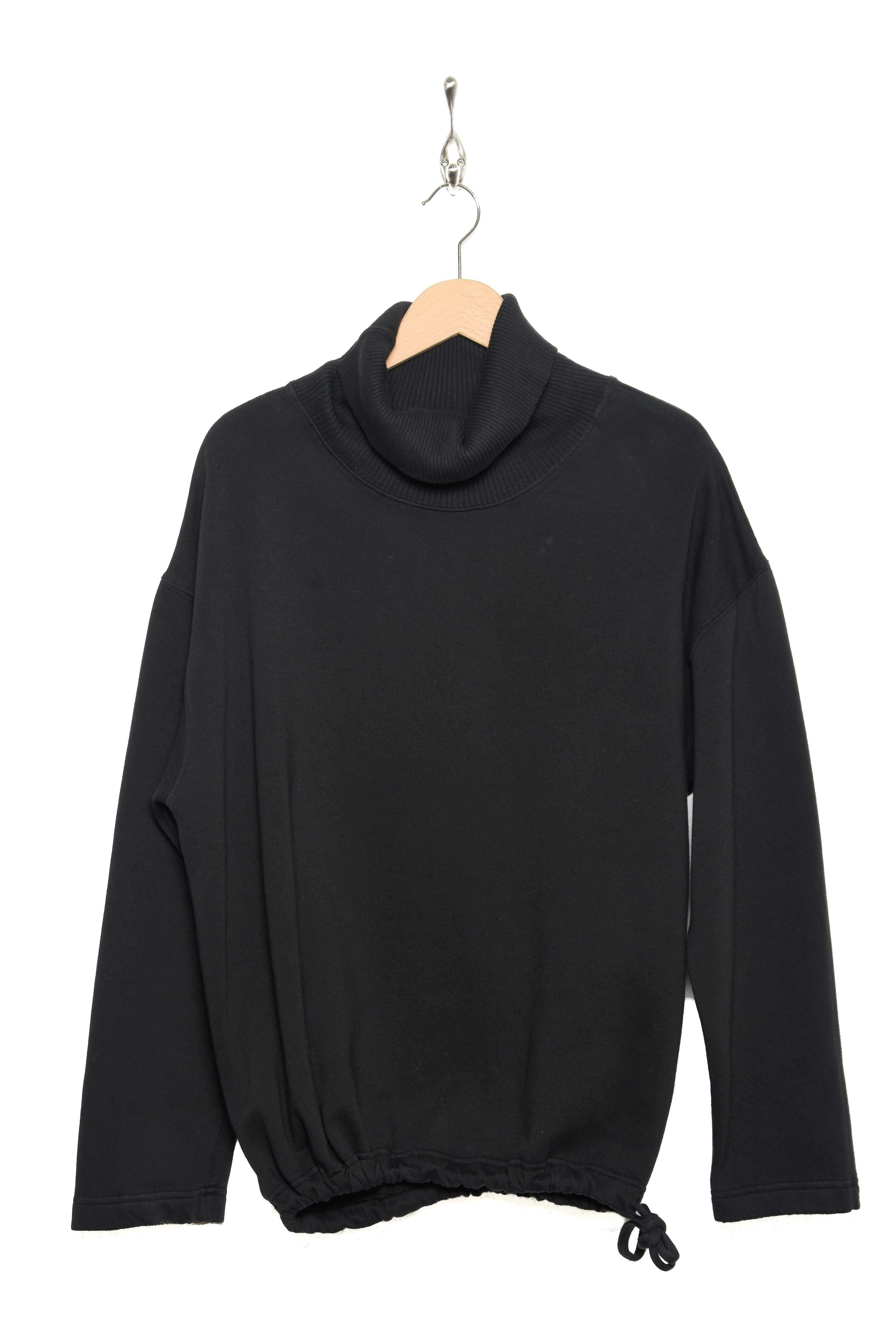 Turtle Neck Sweater black AW20-FLEE-COL-B