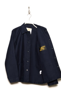 Le Mont St Michel work jacket navy