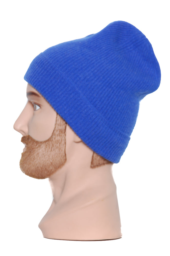 Moray Cashmere Beanie royal blue