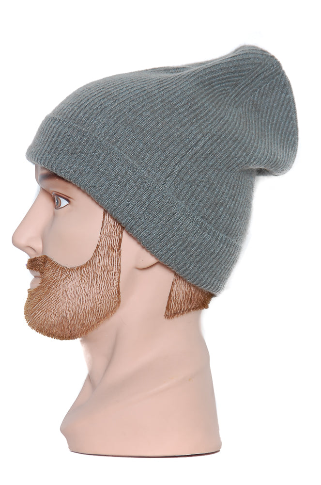 Moray Cashmere Beanie olive
