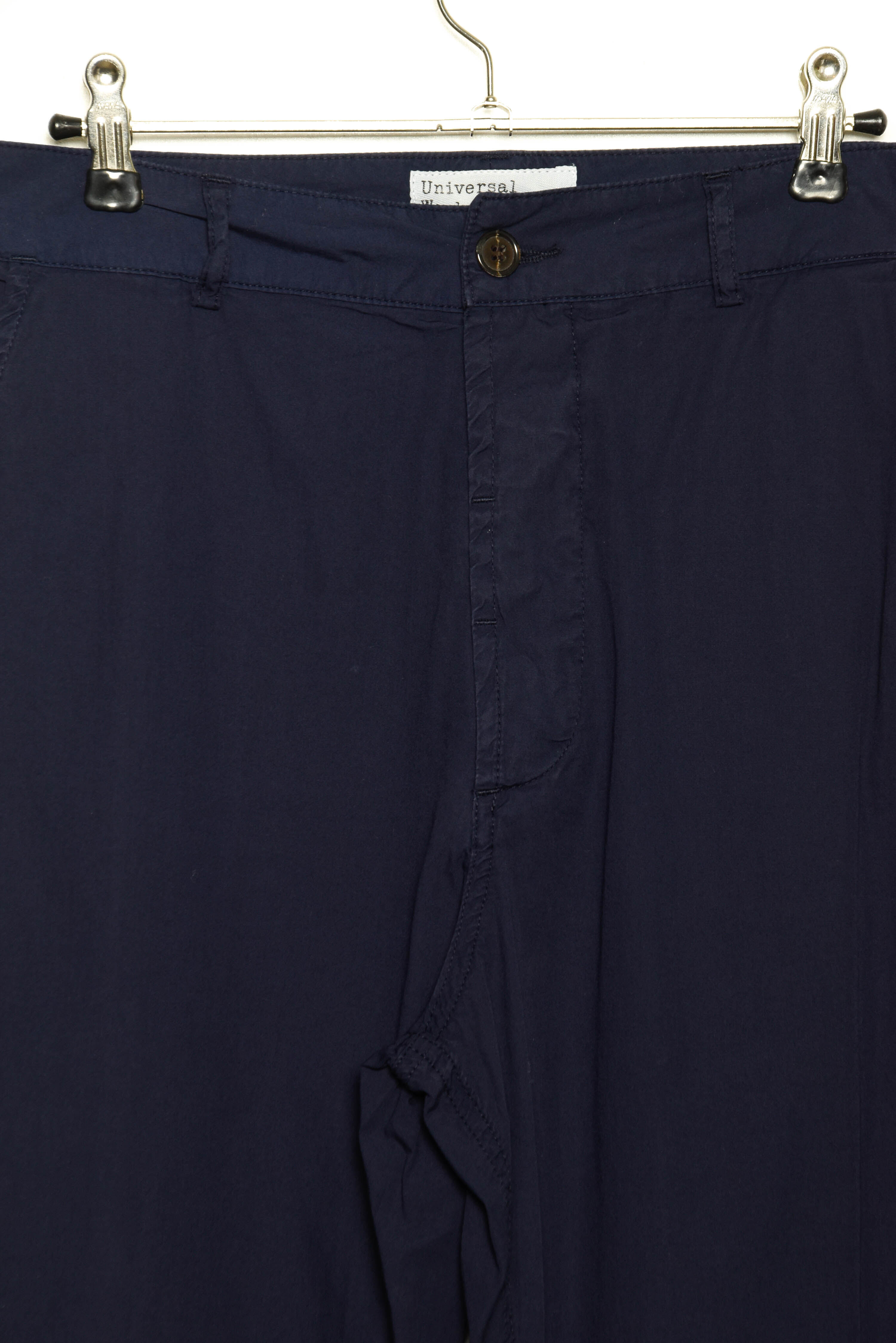 Universal Works Military Chino poplin navy 22136