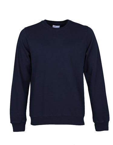 Colorful Standard Crew Sweat navy blue