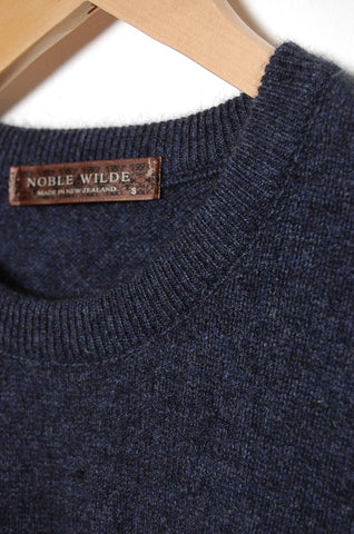 Noble Wilde Cambridge Crew 790 bluewash