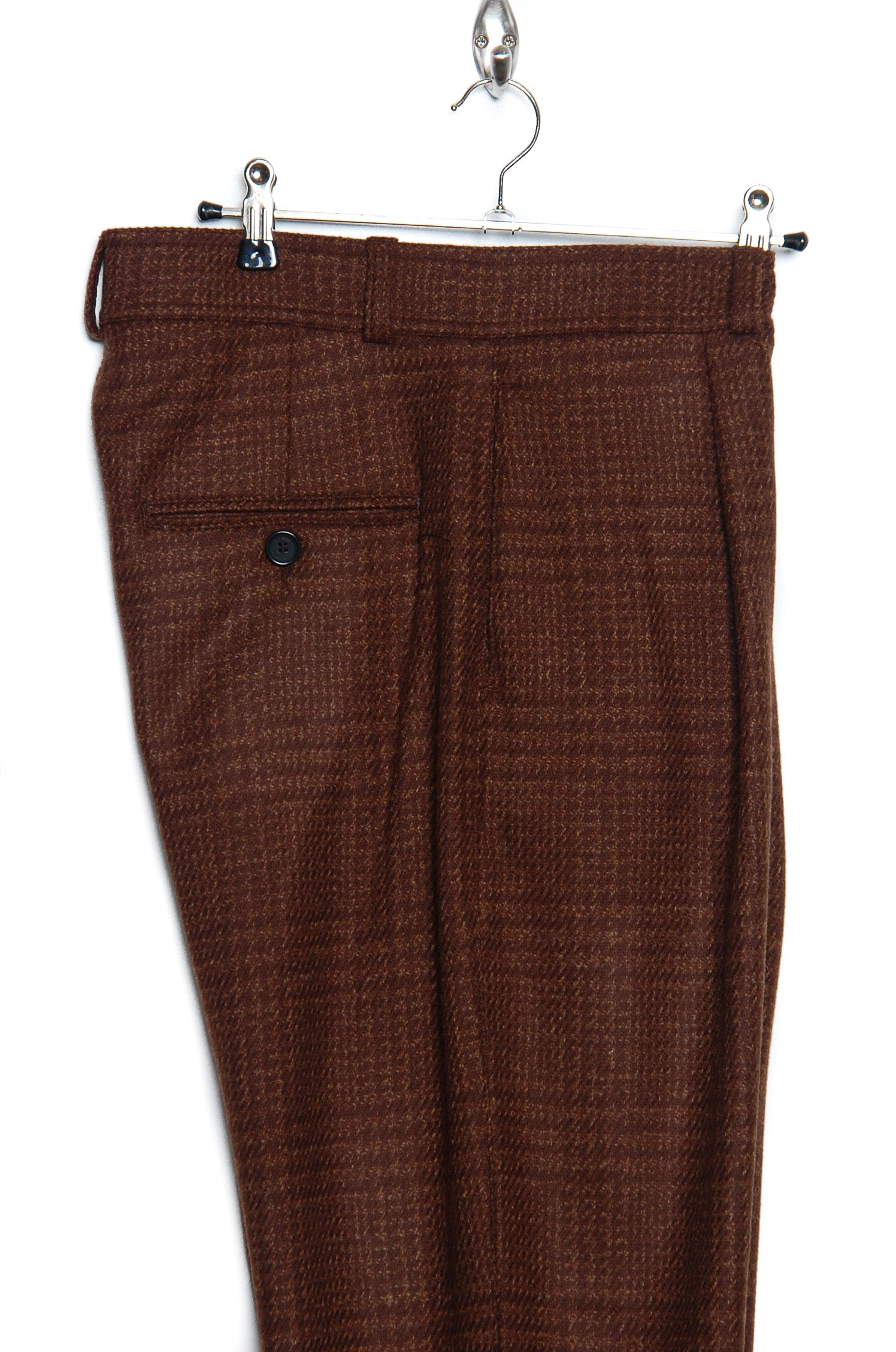 Oliver Spencer OSMT60 Pleat Trouser rust