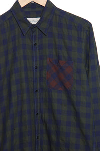 Oliver Spencer OSMS200E CAMLEY New York Special Shirt green