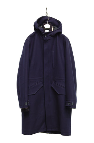 Oliver Spencer Priory Parka Cleveland navy OSMJ298