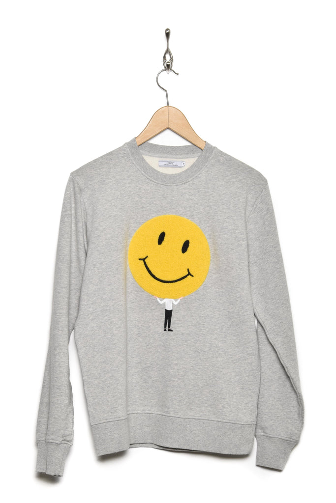 Olow Sweat Smile gris