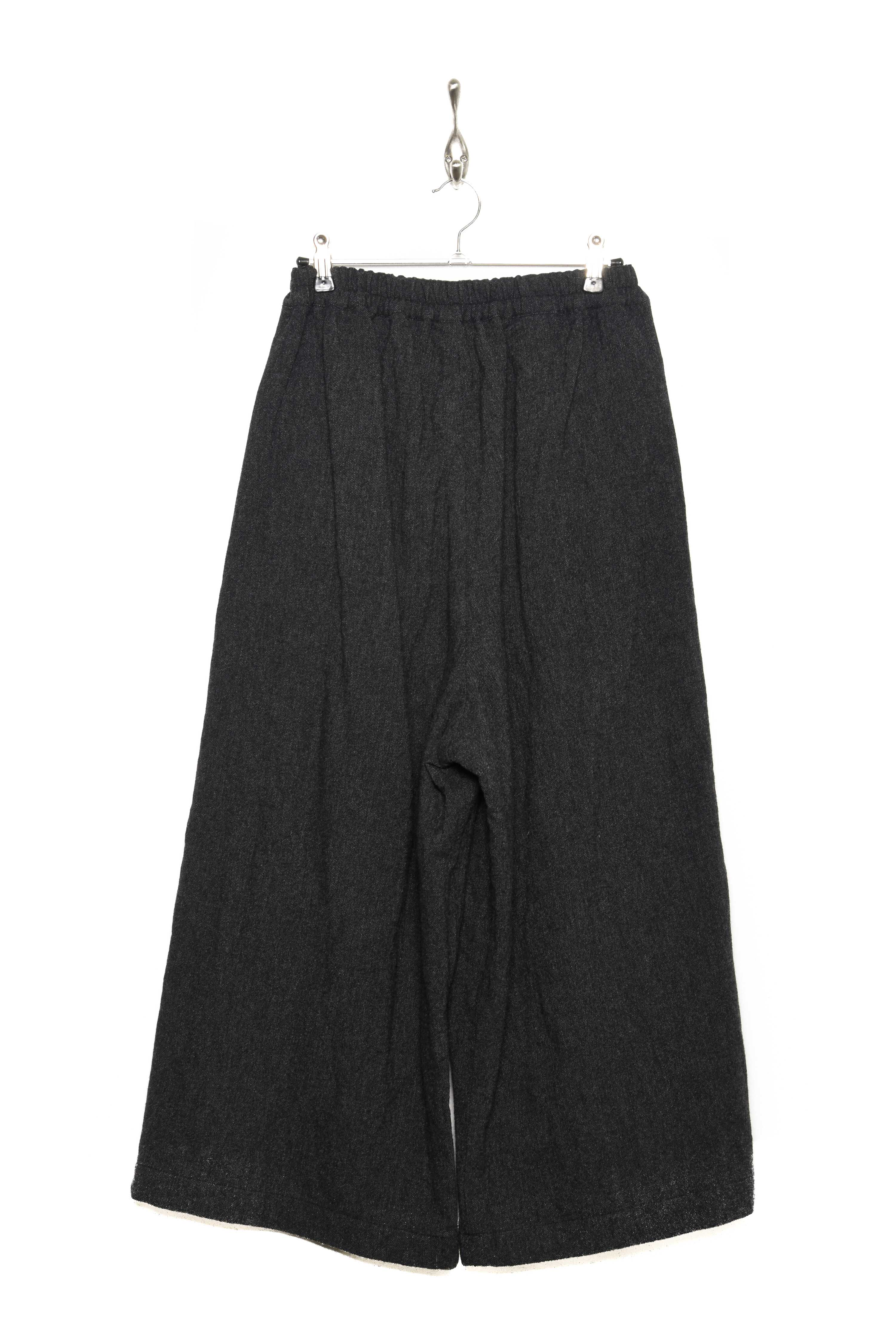 Porter Trouser wool charcoal