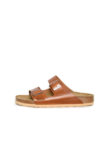 Birkenstock Arizona antique pull cognac 1015538
