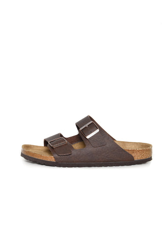 Birkenstock Arizona BF Saddle Matt Brown Vegan 1018171