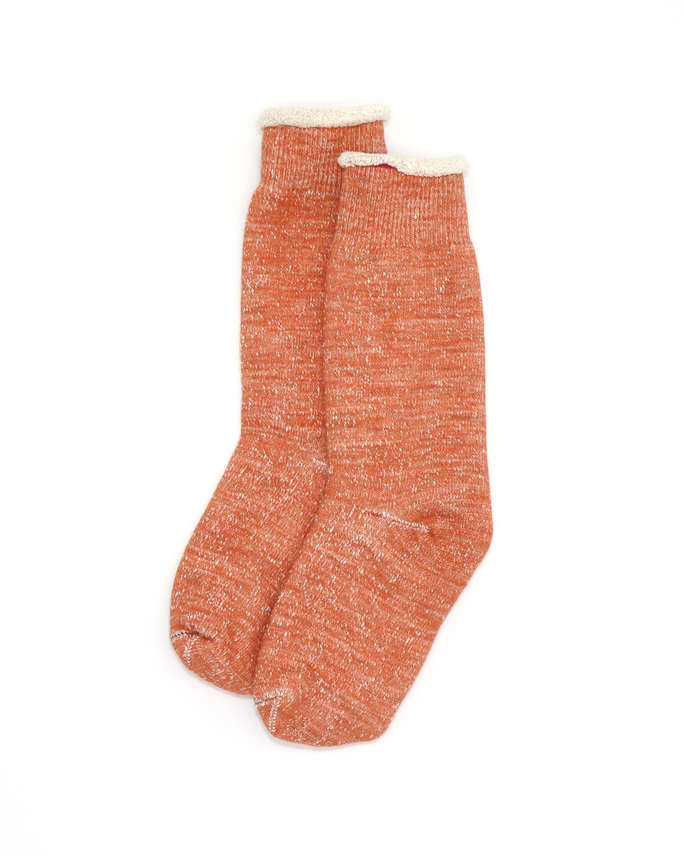 double face crew socks 388810011 orange