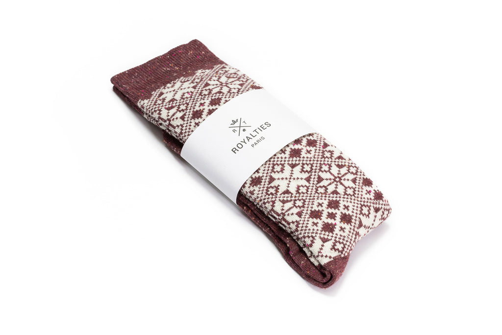 Royalties Paris ASPEN Burgundy