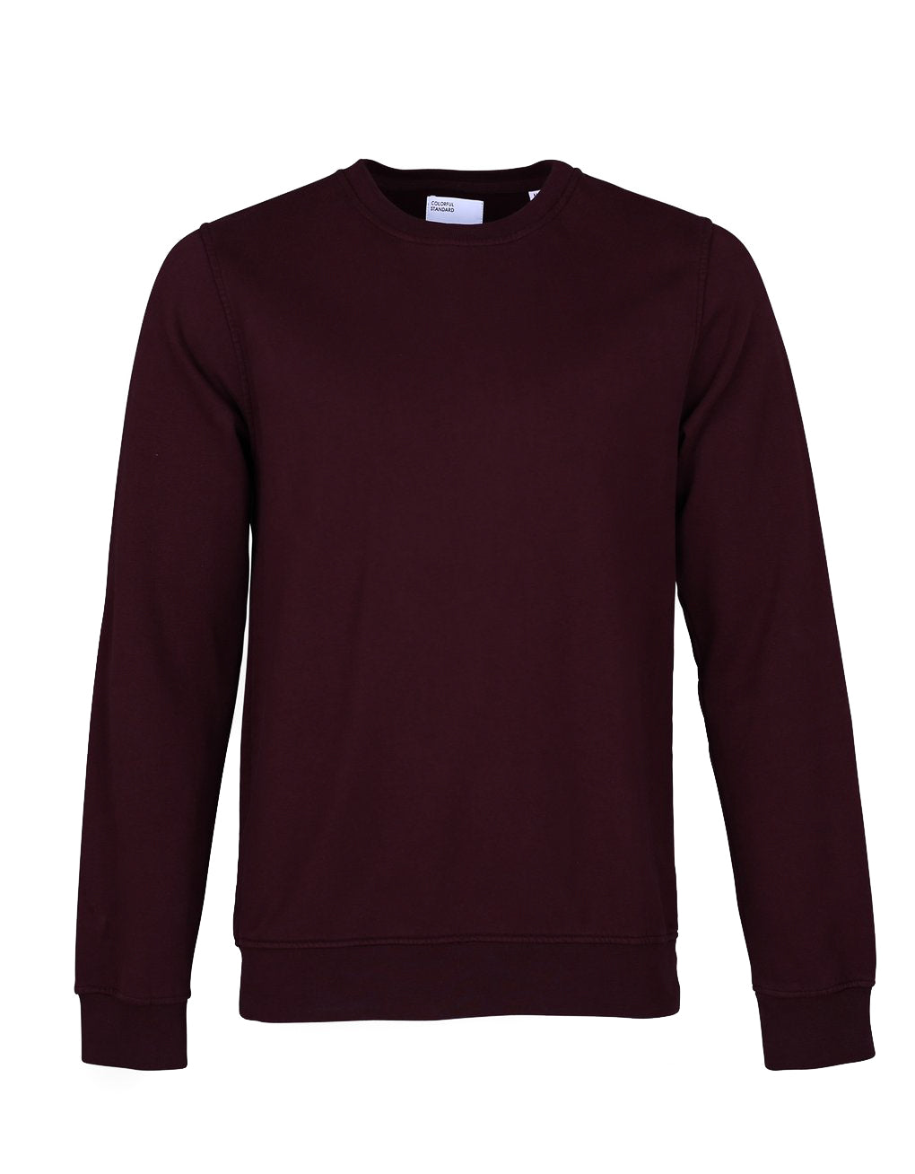 Colorful Standard Crew Sweat oxblood red