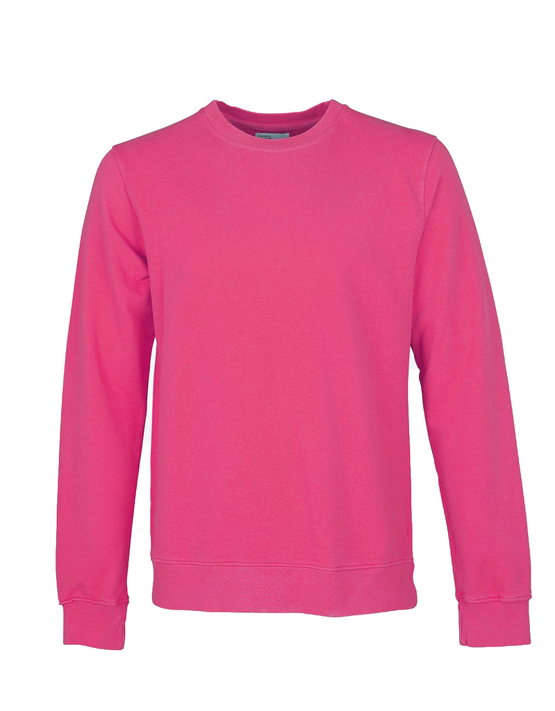 Colorful Standard Crew Sweat bubblegum pink
