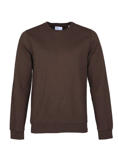 Colorful Standard Crew Sweat coffee brown