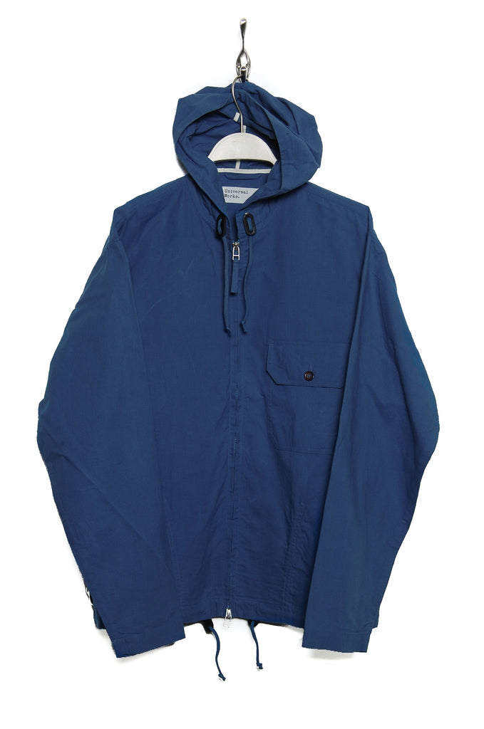 Universal Works Fistral Jacket 20197 hybrid wax blue
