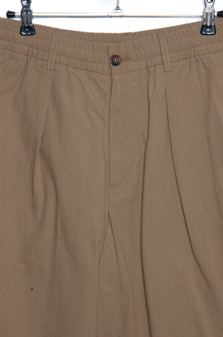 Universal Works Pleated Track Pant 20123 sand