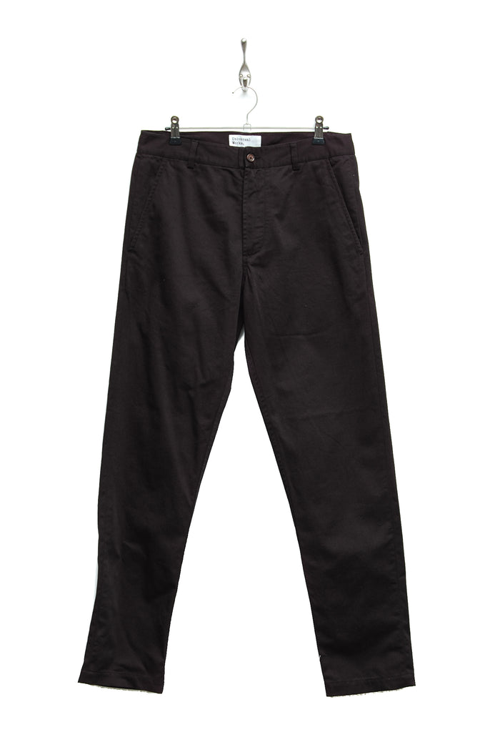 Universal Works Aston Pant Twill black 19130