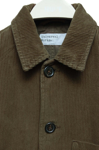 Universal Works Bakers Jacket Cord olive 19505