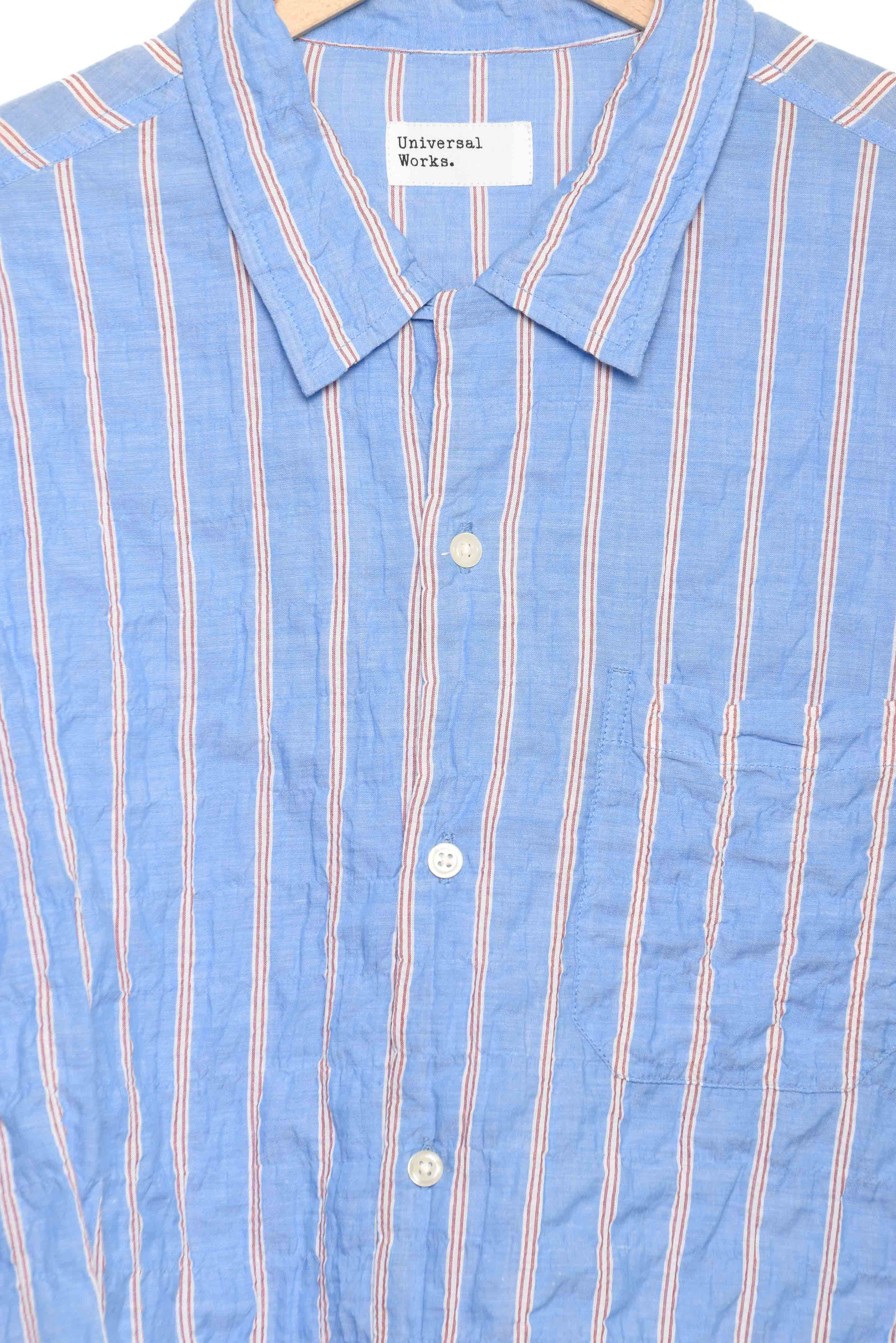 Universal Works Road Shirt pale blue 22185