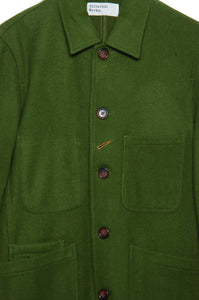 Universal Works Long Bakers Jacket 21105 Mowbray green
