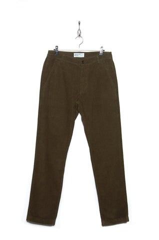 Universal Works Aston Pant 21508 Cord olive