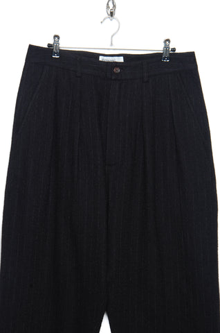 Universal Works Double Pleat Pant 21135 black