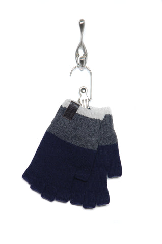 Universal Works Fingerless Gloves 21591 navy/charcoal