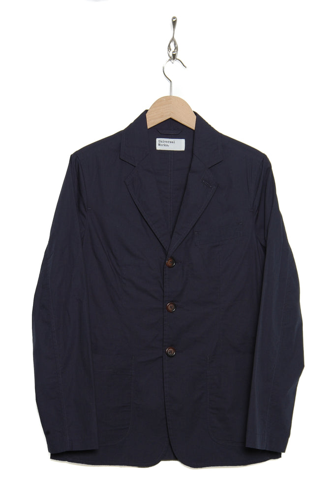 Universal Works 20196 Poplin London Jacket navy
