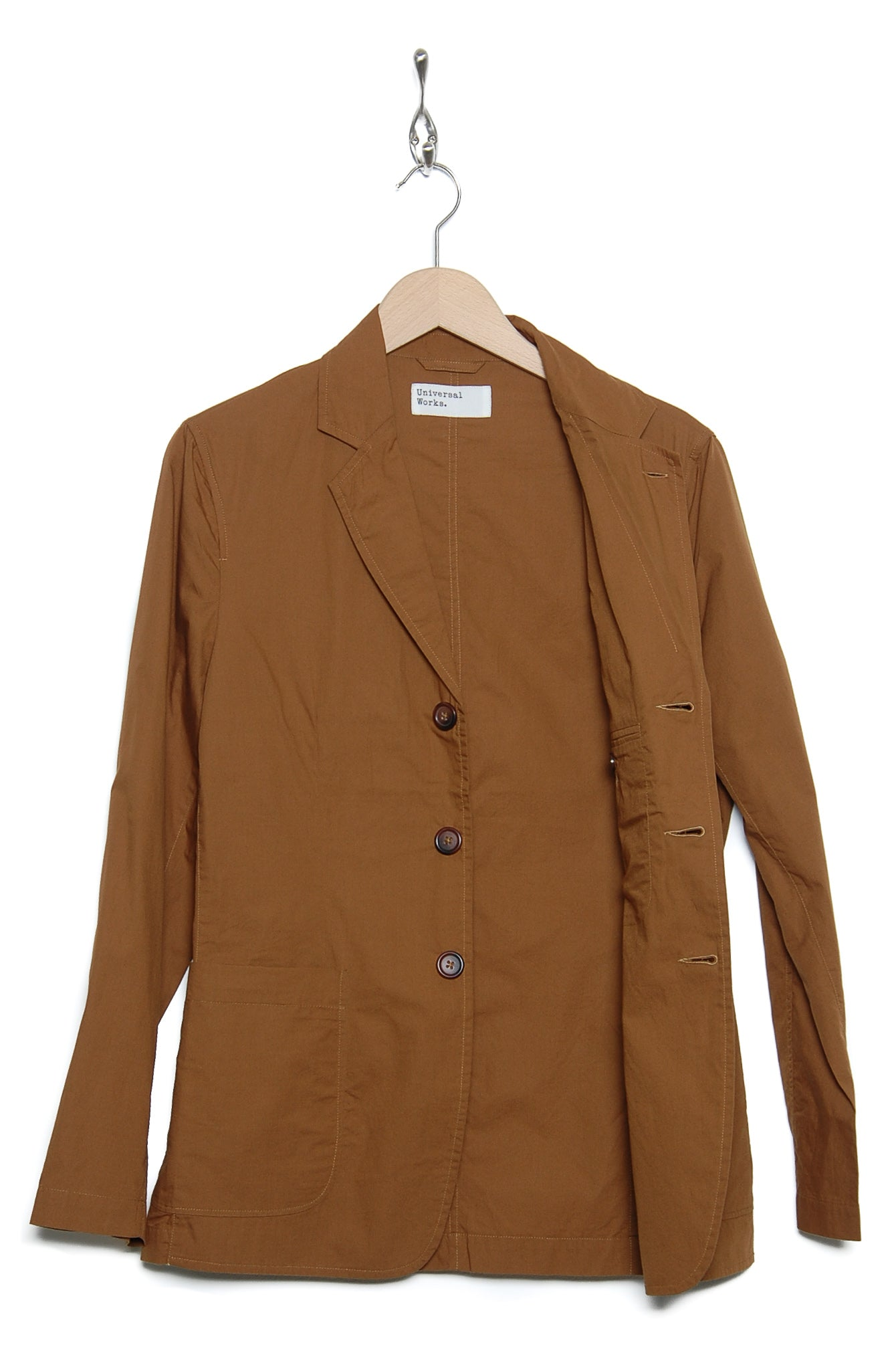 Universal Works 20196 Poplin London Jacket khaki
