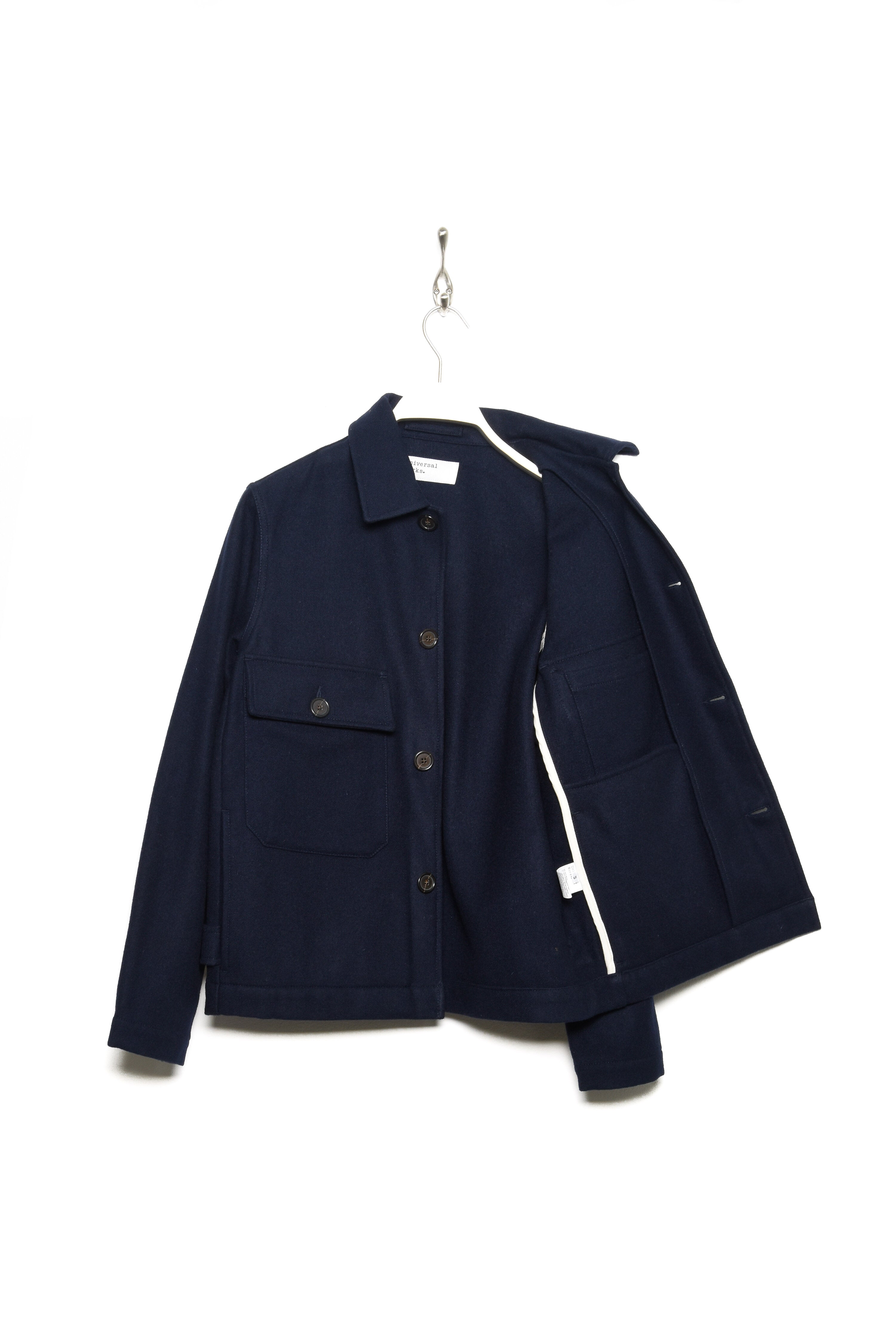 Strummer Jacket Melton 23505 navy