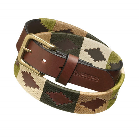 Pampeano Belt Valiente brown