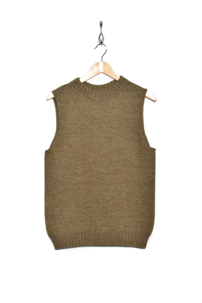 Workhouse England Welsh Fisherman Sleeveless pebble
