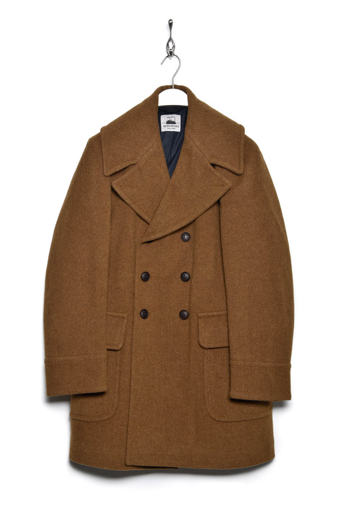 Workhouse England Bill Sykes Coat tan brown