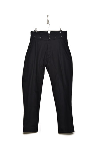 Workhouse England High Waist Trousers black