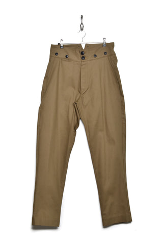 Workhouse England High Waist Trousers tan