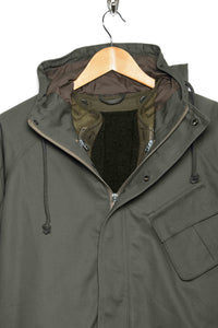 Mountain Jacket + Fleece Liner green