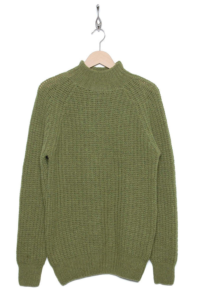 YMC Urchin Rib Turtleneck green P8KAV