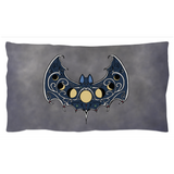 Moonphase Bat Pillow Shams