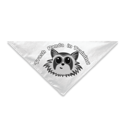 Trash Panda In Training Pet Bandana