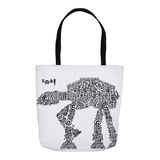 Symbol Ships Battle Tote Bag