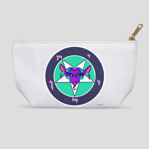 Baphomet accessory pouch