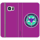 Sassy Baphomet Folio wallet phone case