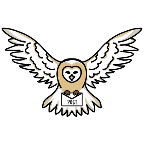 Owl Post - Vinyl Die Cut Stickers