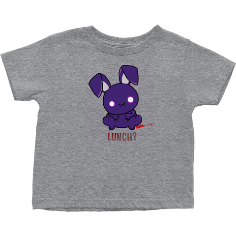 Hungry Wabbit - toddler tees