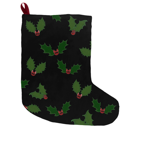 Holly Jolly Batmas Stocking