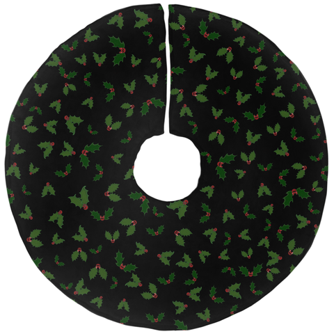 Holly Jolly Batmas Tree Skirt